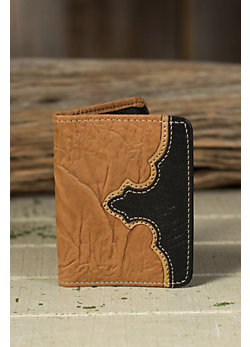 Travis Wrinkled Leather Billfold Wallet