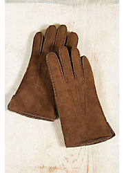 Men's Shearling Gloves with Vents