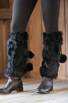 Rabbit Fur Boot Toppers