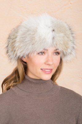Coyote Fur Headband