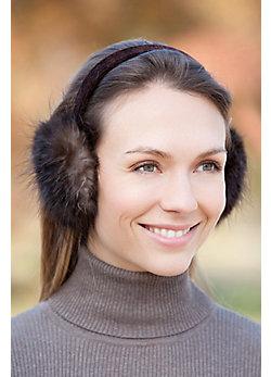 Beaver Fur Earmuffs