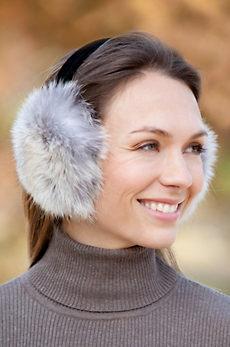 Coyote Fur Earmuffs