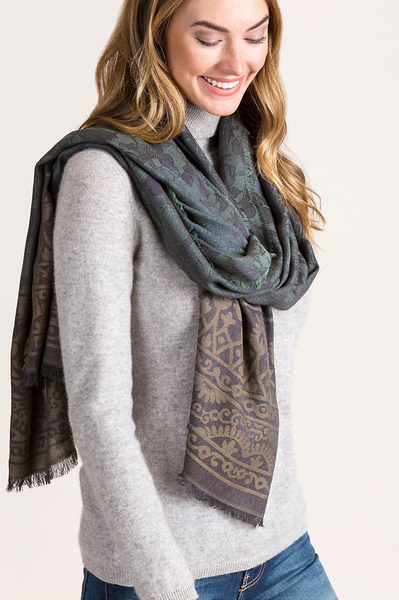 Astrid Viscose Shawl-Style Scarf