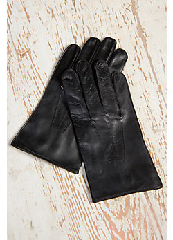 Men's Dents Lambskin Leather Gloves