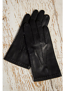 Men's Dents Lambskin Leather Gloves with Silk Lining