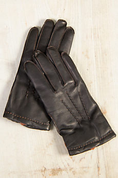 Men's Dents Howard Cashmere-Lined Leather Gloves