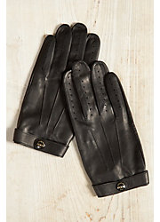 Men's Dents Fleming James Bond Spectre Leather Driving Gloves