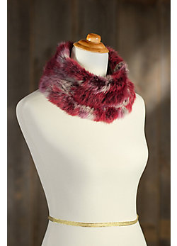 Rabbit Fur Neck Warmer II