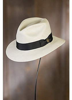 God Father Goorin Brothers Straw Fedora Hat