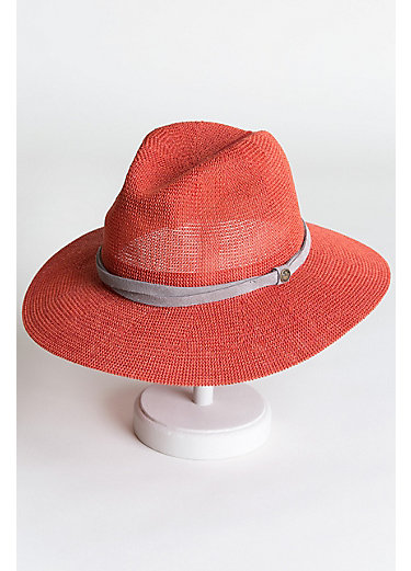 Goorin Bros. Fatima Packable Straw Fedora Hat