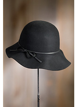 Goorin Bros. Mrs. Blanc Wool Floppy Cloche Hat