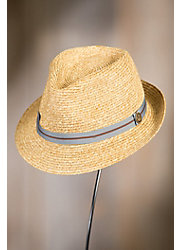 Goorin Bros. Keep It Real Classic Brim Straw Fedora Hat