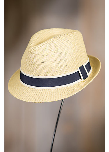 Goorin Bros. Killian Stingy Brim Straw Fedora Hat