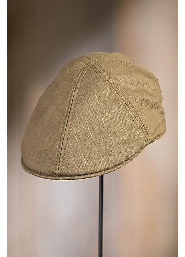 Goorin Bros. Steve B Duckbill Linen-Blend Ivy Cap