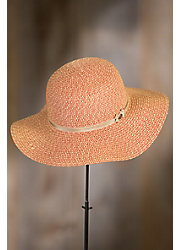 Goorin Bros. Mirta Foseca Wide Brim Straw Floppy Hat