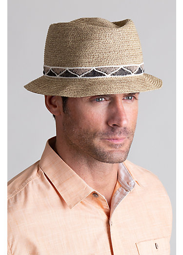 Goorin Bros. Albuquerque Crushable Straw Fedora Hat