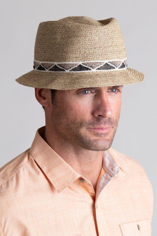 Goorin Bros. Albuquerque Crushable Straw Fedora Hat