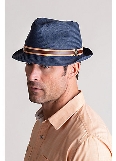 Goorin Bros. Relax FM Crushable Straw Fedora Hat