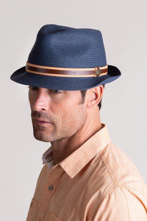 Goorin Bros. Relax FM Crushable Straw Fedora Hat