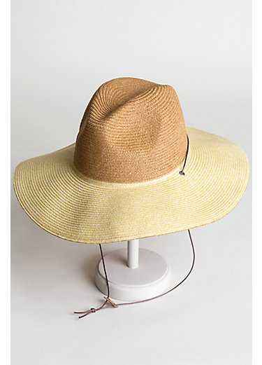 Goorin Bros. I'm A Tree Packable Straw Fedora Hat