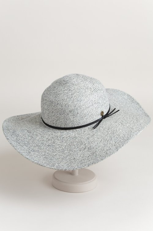 a74589cef7b69 Bailey Packable Straw-Blend Wide Brim Floppy Hat