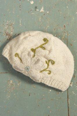 Women's Handmade Milly Merino Wool Hat with Fleece Lining