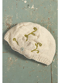 Women's Handmade Milly Merino Wool Hat with Fleece Lining
