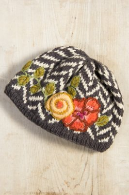 Women's Handmade Thea Wool Hat with Fleece Lining