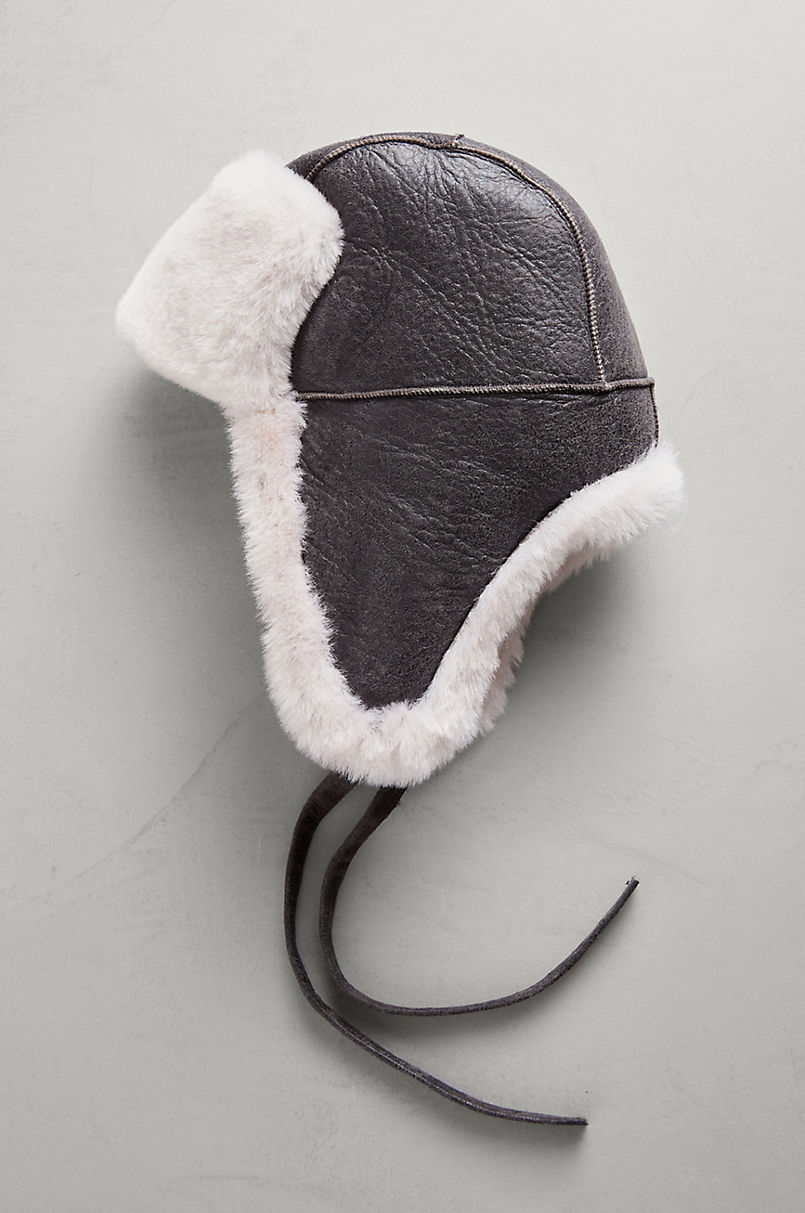 B-3 Sheepskin Aviator Hat