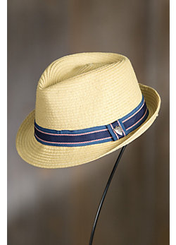 Oaklyn Paper Braid Fedora Hat