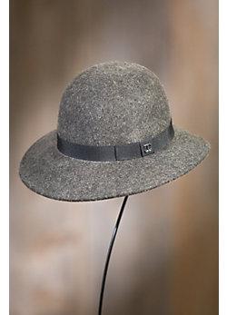 Vic Heathered Wool Cloche Hat