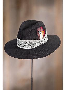 Stefania Floppy Knit Fedora Hat