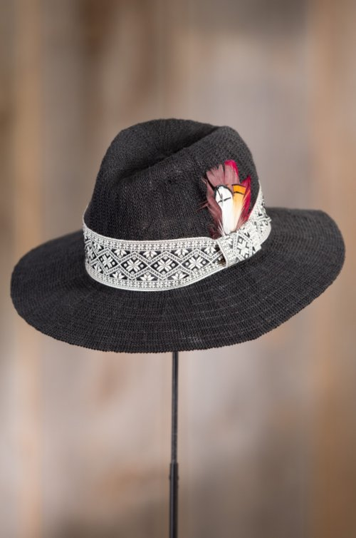 Overland Stefania Knit Fedora Sun Hat