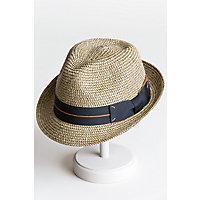 Chatum Paper Braid Fedora Hat