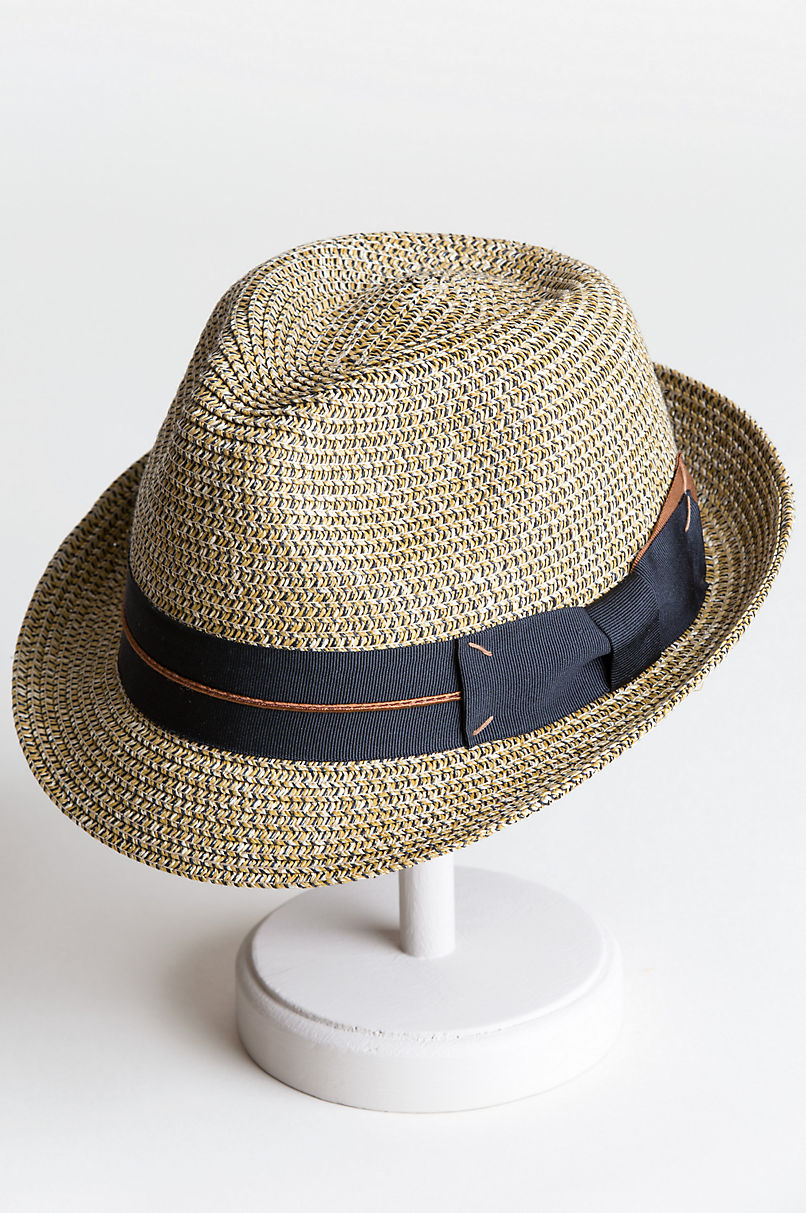 4872f50f077 Biltmore Royce Straw Fedora Hat
