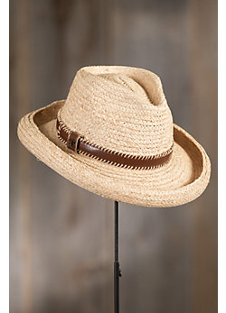 Plantation Braided Raffia Panama Hat