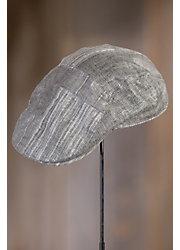 Stetson Patchwork Linen-Blend Ivy Cap