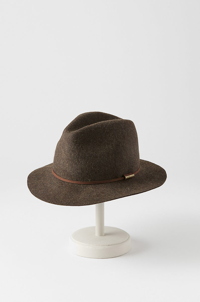 Overland Edward Crushable Wool Felt Safari Hat