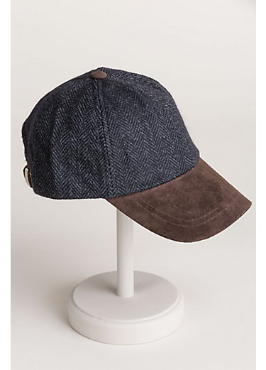 Stetson Wool and Suede Baseball Cap