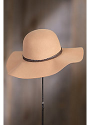 Francesca Wool Felt Floppy Hat