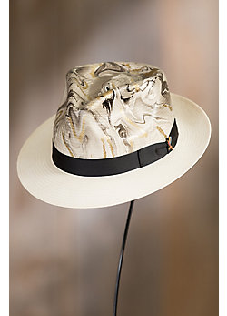 Luminosity Straw Fedora Hat