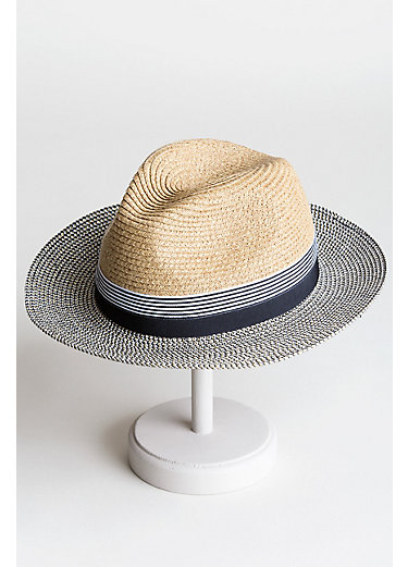Toyo Straw-Blend Safari Hat
