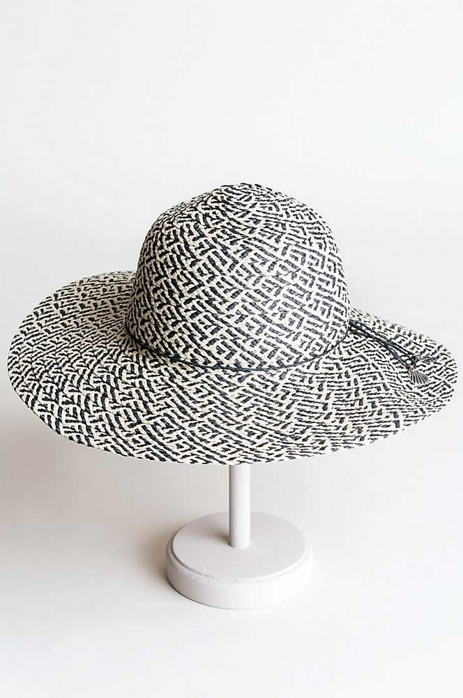 Charmed Toyo Straw Floppy Hat