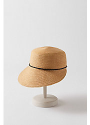 Straw Facesaver Hat