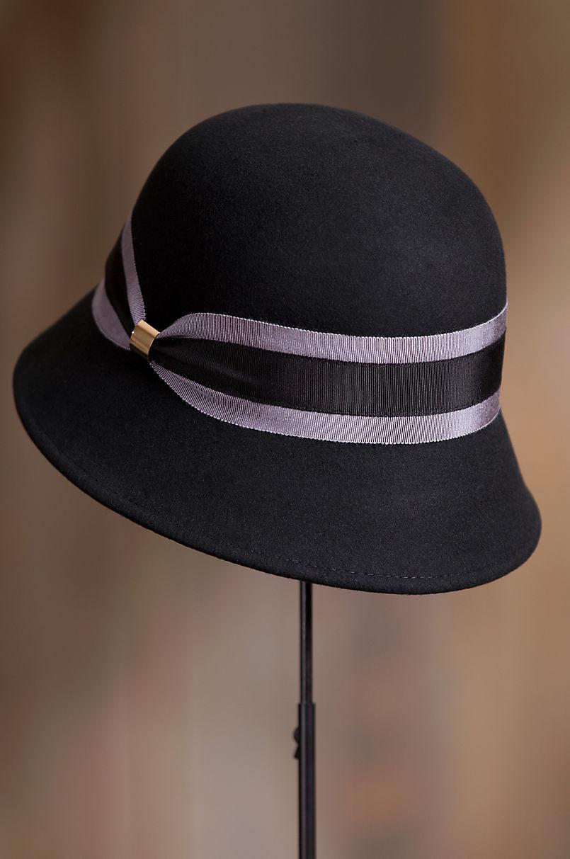 be5a581741f591 Women's Classic Wool Felt Cloche Hat | Overland