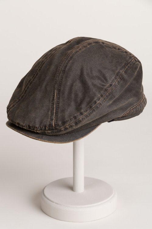 Overland Weathered Cotton-Blend Ivy Cap with Fleece-Lined Earflap