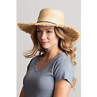 Alice Braided Raffia Floppy Sun Hat with Tassels