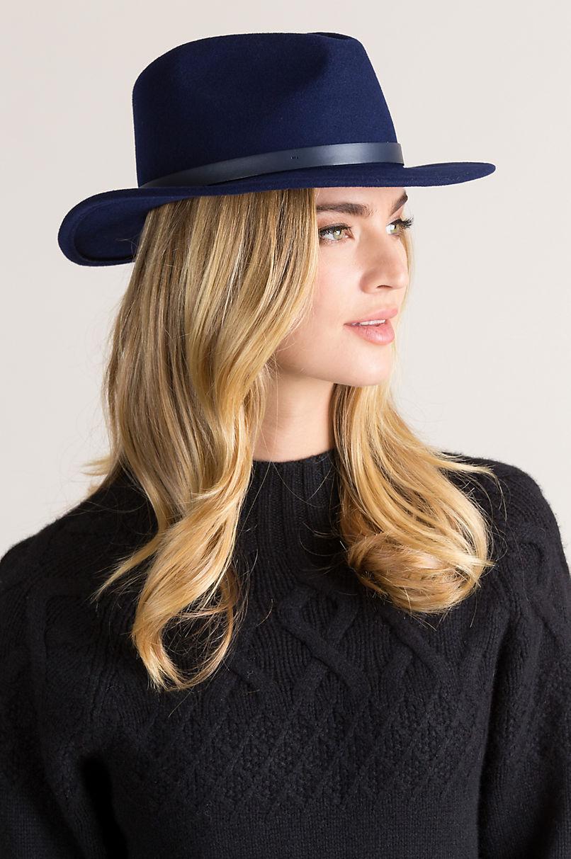 Brooklyn Wool Felt Fedora Hat