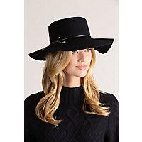 Women's Vintage Hats | Old Fashioned Hats | Retro Hats Voyage Wool Felt Floppy Western Hat $49.00 AT vintagedancer.com