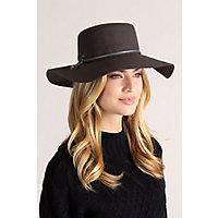 Victorian Hat History | Bonnets, Hats, Caps 1830-1890s Voyage Wool Felt Floppy Western Hat $49.00 AT vintagedancer.com